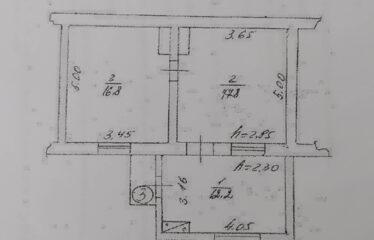 2-к. квартира, 46,8 м², 1/1 эт. в с. Молочное