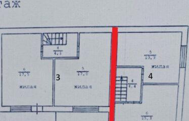 Таунхаус 90 м² на участке 2 сот. в с. Молочное