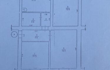 3-к. квартира, 62,7 м², 2/2 эт. в пгт. Раздольное