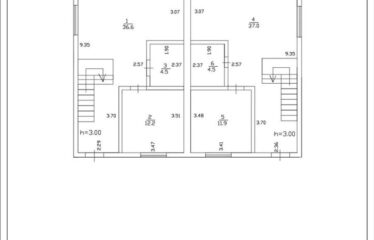 Таунхаус 115 м² на участке 3 сот. в г. Евпатория